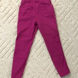Bright Pink Pixie Pants